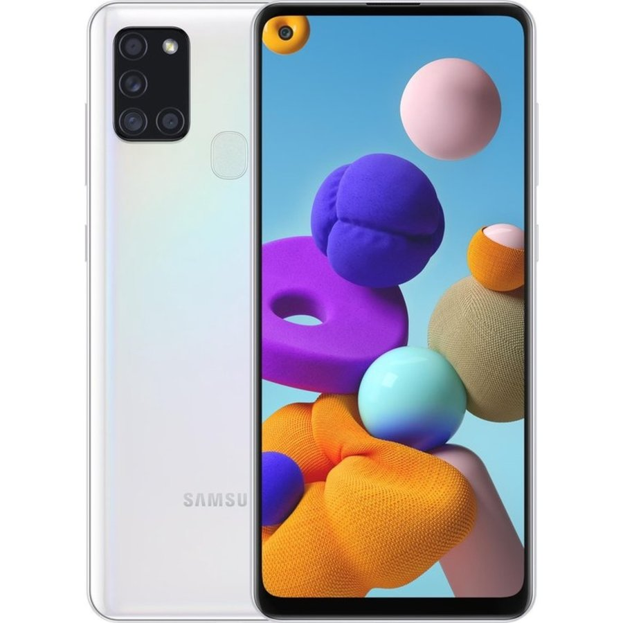 Samsung Galaxy A21s Dual Sim A217F 64GB White (64GB White)-1