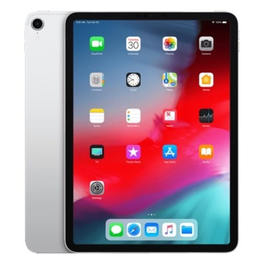 Refurbished iPad Pro 12.9 Inch (2018 -versie) 64GB Silver Wifi + 4G-1
