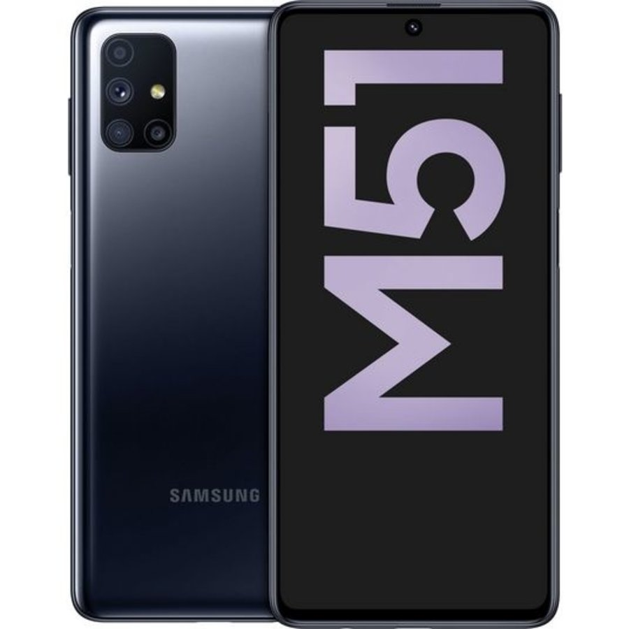 Samsung Galaxy M51 Dual Sim M515F 128GB Black (128GB Black)-1