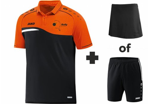 Jako TTV Rally Set (Polo+Shirt/Skirt)