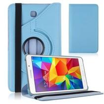 Draaibare hoes voor de Samsung Galaxy Tab 4 7.0 - Licht Blauw