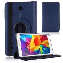 Draaibare hoes voor de Samsung Galaxy Tab 4 7.0 - Donker Blauw