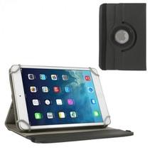 7 inch tablet hoes 360 graden draaibaar zwart - universeel