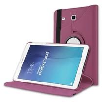 Draaibare hoes voor de Samsung Galaxy Tab E 9.6 - Paars