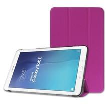 Samsung Galaxy Tab E 9.6 Tri-Fold Book Case Paars