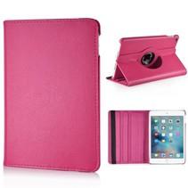 iPad Mini 4 - 360 Graden draaibare hoes - magenta