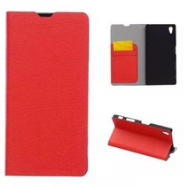 Book Case voor Sony Xperia Z5 - Rood