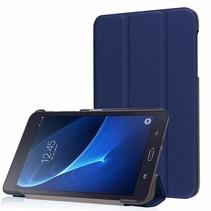 Samsung Galaxy Tab A 7.0 Tri-Fold Book Case Donker Blauw