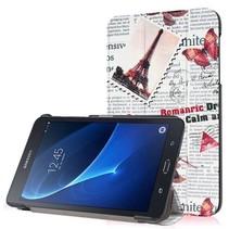 Samsung Galaxy Tab A 7.0 Tri-Fold Book Case Newspaper