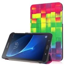Samsung Galaxy Tab A 7.0 Tri-Fold Book Case Blocks