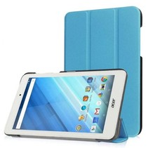 Acer Iconia One 7 B1-770 Tri-Fold Book Case Licht Blauw