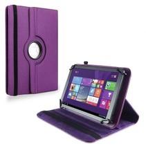 9 inch tablet hoes 360 graden draaibaar Paars