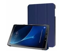 Samsung Galaxy Tab A 10.1 Tri-Fold Book Case Donker Blauw