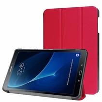 Samsung Galaxy Tab A 10.1 (2016/2018) Tri-Fold Book Case Rood