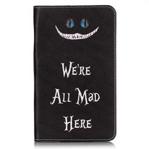 Samsung Galaxy Tab A 7.0 Book Case We're All Mad Here