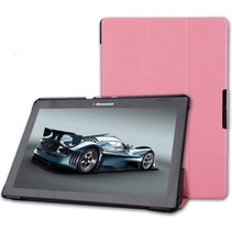 Lenovo Tab 3 10 Business hoes - Tri-Fold Book Case Roze