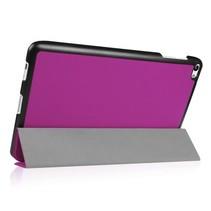 Huawei MediaPad T2 10.0 Tri-Fold Book Case Paars