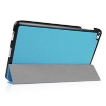 Huawei MediaPad T2 10.0 Tri-Fold Book Case Licht blauw