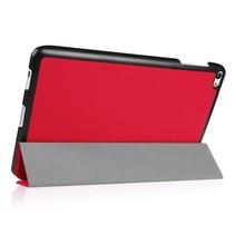 Huawei MediaPad T2 10.0 Tri-Fold Book Case Rood
