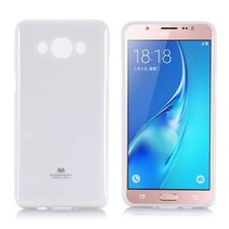 Samsung Galaxy J5 2016 siliconen TPU hoes wit