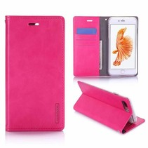 iPhone 7 Plus / iPhone 8 Plus - Blue Moon Wallet Case Magenta