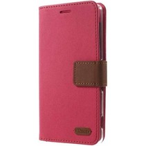 Samsung Galaxy J1 2016  Simply Life Wallet Case Roze