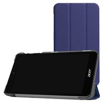 Acer Iconia One 7 B1-780 Tri-Fold Book Case Donker blauw