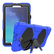 Samsung Galaxy Tab E 9.6 Extreme Armor Case Donker Blauw