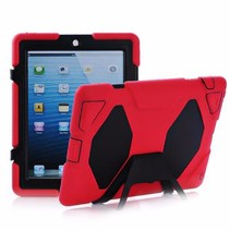 iPad 2,3,4 Extreme Armor Case Rood