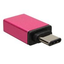 USB 3.1 Type C naar USB 3.0 OTG Adapter - Roze
