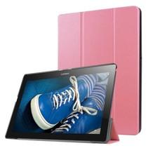 Lenovo Tab 3 10 Plus hoes - Tri-Fold Book Case Roze