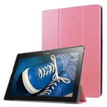 Lenovo Tab 3 10 Plus Tri-Fold Book Case Roze