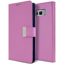 Samsung Galaxy S8 Plus Rich Diary Wallet Case Paars