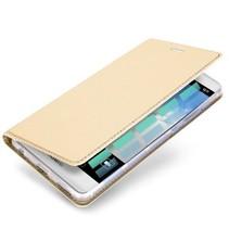 Huawei P10 hoesje - Dux Ducis Skin Pro Book Case - Goud