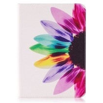 Samsung Galaxy Tab S3 9.7 Book Case Gekleurde Bloem