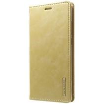 Samsung Galaxy S8 Plus Blue Moon Flip Wallet Case Goud