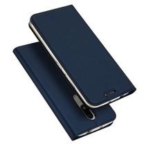 Motorola Moto M hoesje - Dux Ducis Skin Pro Book Case - Blauw