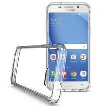 Hybrid Armor Case - Samsung Galaxy J3 2017 - Transparant