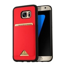 Dux Ducis - Samsung Galaxy S7 Edge hoesje - Pocard Series - Back Cover - Rood