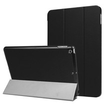 iPad 9.7 - Tri-Fold Book Case - Zwart