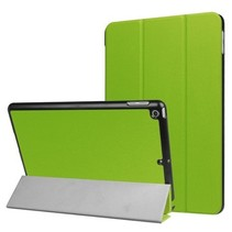 iPad 9.7 - Tri-Fold Book Case - Groen