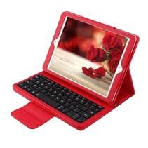 iPad 9.7 - Bluetooth Toetsenbord hoes - Rood