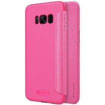 Nillkin Sparkle Series Leather Case Samsung Galaxy S8 - Roze