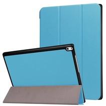 Lenovo Tab 4 10 Hoes - Tri-Fold Book Case Licht Blauw