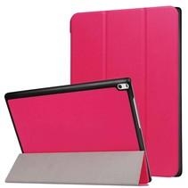 Lenovo Tab 4 10 Hoes - Tri-Fold Book Case Magenta