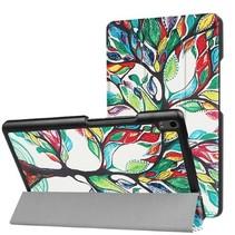 Lenovo Tab 4 8.0 Plus hoes - Tri-Fold Book Case - Gekleurde Boom