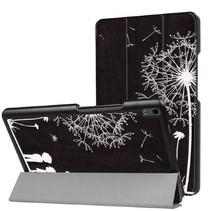 Lenovo Tab 4 8.0 Plus hoes - Tri-Fold Book Case - Paardenbloem