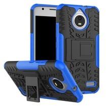 Motorola Moto E 4th gen Schokbestendige Back Cover Blauw