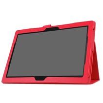 Lenovo Tab 4 10 - flip hoes rood
