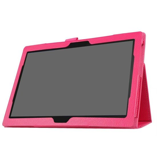 Case2go Lenovo Tab 4 10 Plus - flip hoes Magenta